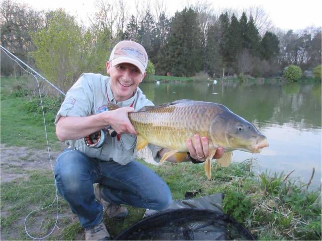 12 lbs Common Carp, Vale Farm Fishery
